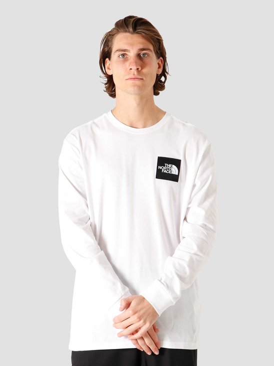 The North Face Boruda Longsleeve White NF0A4C9IFN4