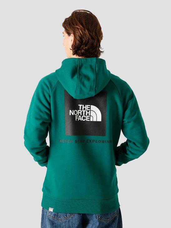The North Face Raglan Redbox Hoodie Evergreen NF0A2ZWUNL1