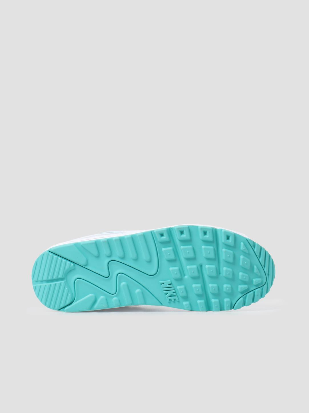 Nike Nike Air Max 90 White Hyper Jade Black CT1028-102