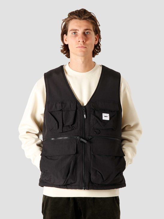 Obey External Vest Black 121810012BLK