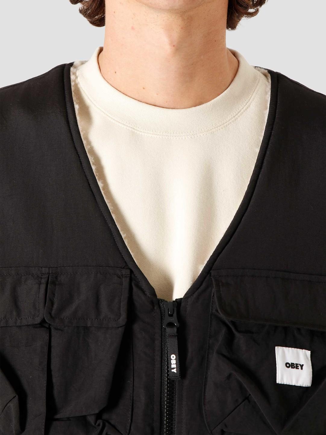 Obey Obey External Vest Black 121810012BLK