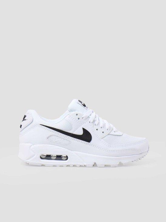 Nike W Air Max 90 White Black White CQ2560-101