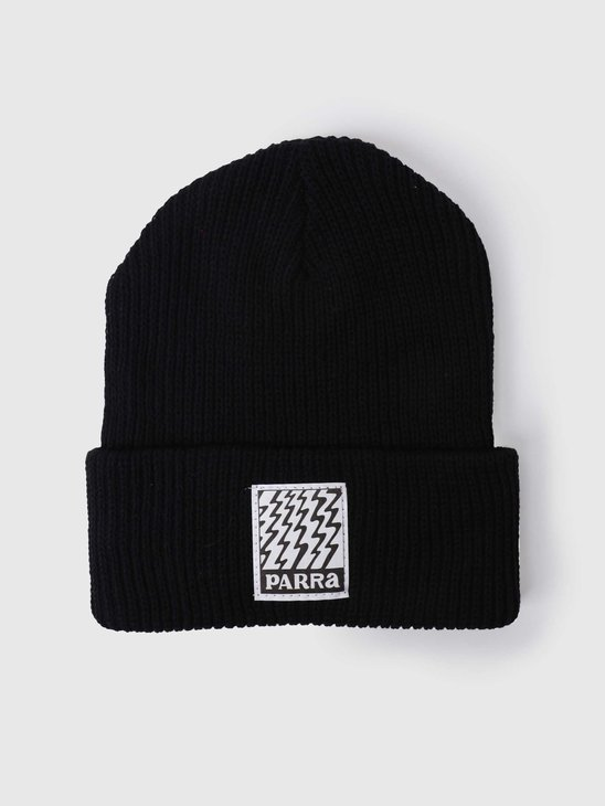 by Parra Static Beanie Black 650500