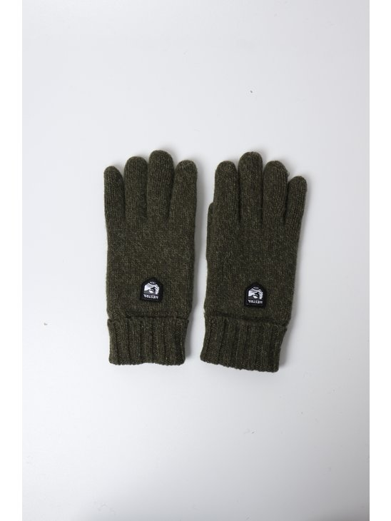 Hestra Basic Wool Glove  Olive 63660-870