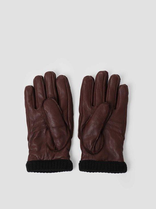 Hestra Deerskin Primaloft Rib Chocolate 20210-770-8