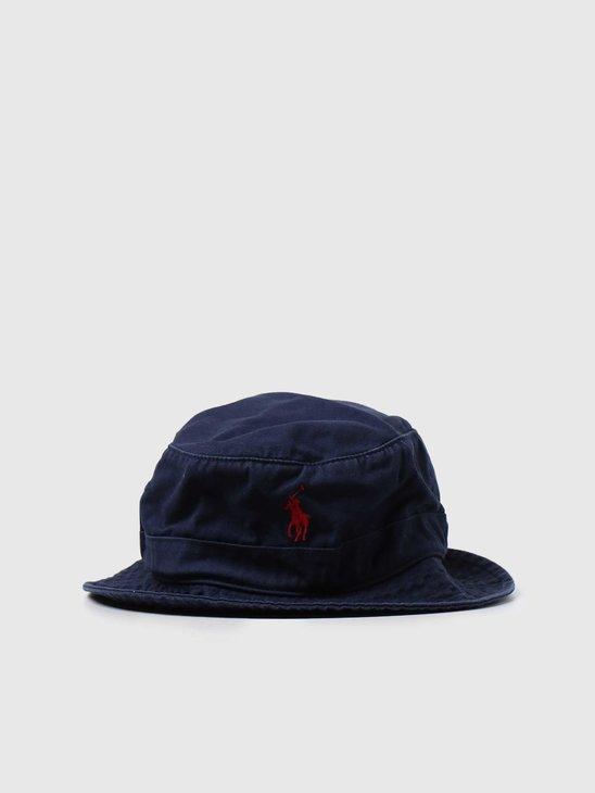 Polo Ralph Lauren Loft Bucket Hat Newport Navy 710798567005