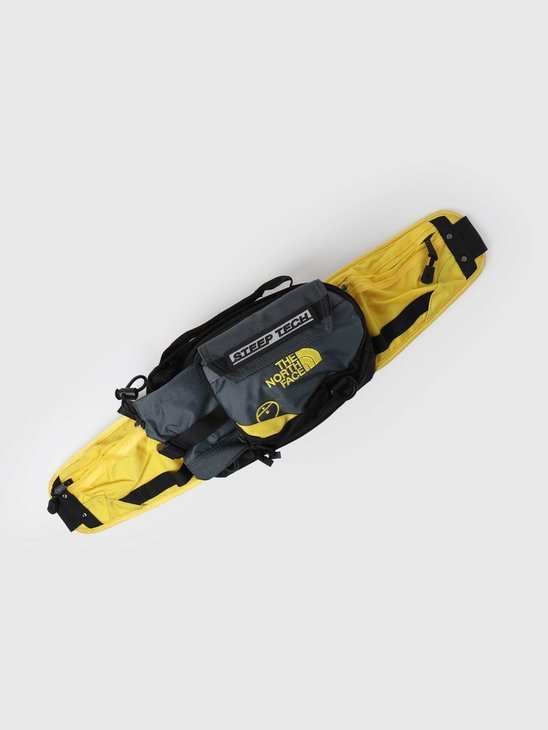 The North Face Steep Tech Fanny Pack Vanadis Grey Lightning Yellow NF0A4SJ4TJB