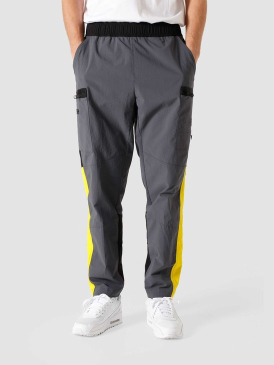 The North Face Steep Tech Pant Vanadis Grey Black Lightning Yellow NF0A4QYRSH6