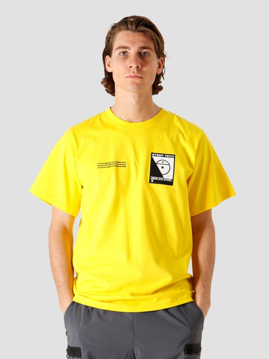 The North Face Steep Tech T-Shirt Lightning Yellow NF0A4746RR8