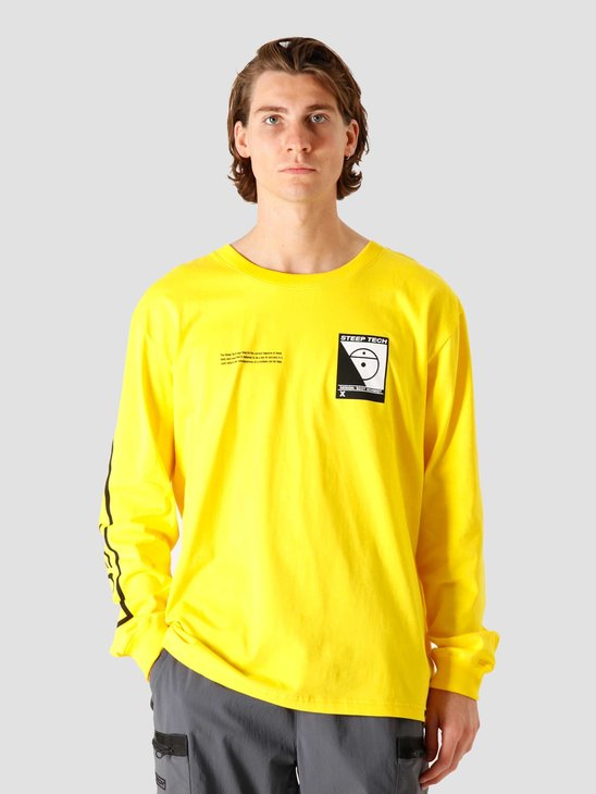 The North Face Steep Tech Longsleeve Lightning Yellow NF0A3YCRRR8
