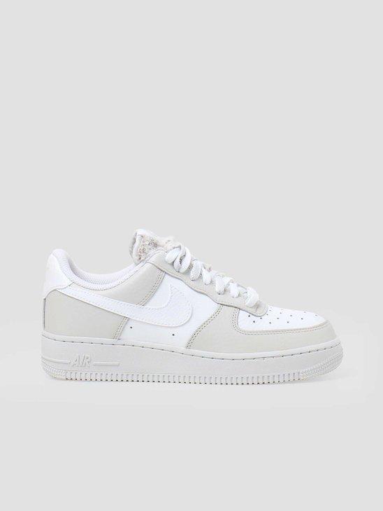 Nike W Air Force 1 07 Light Bone White Photon Dust Life Lime DC1165-001