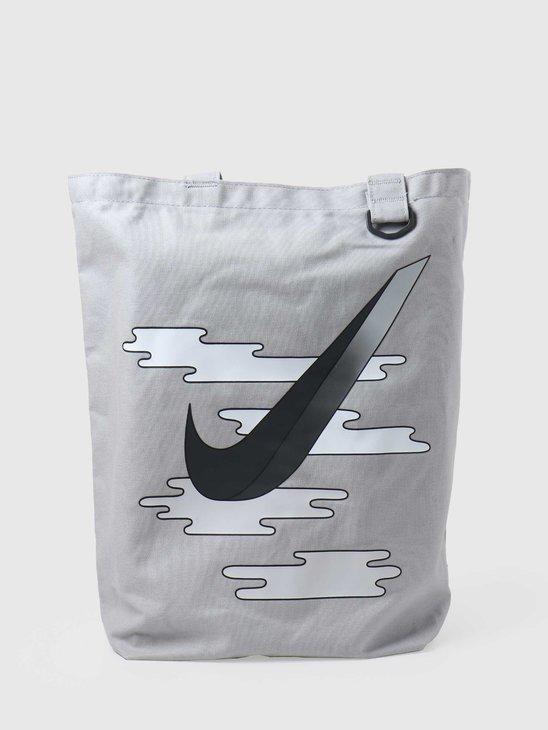 Nike U Heritage Tote - Gfx Lt Smoke Grey Dk Smoke Grey BA6027-077