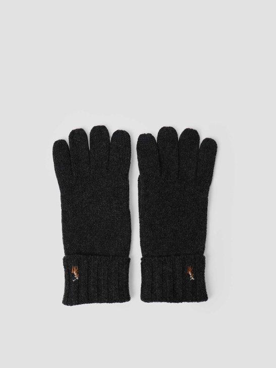 Polo Ralph Lauren Signature Meri Glove Charcoal 449777692008