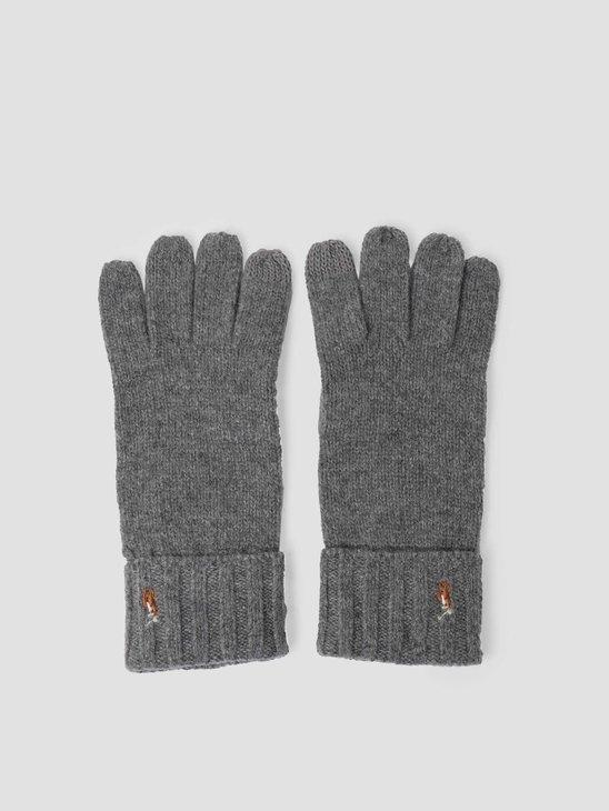Polo Ralph Lauren Signature Meri Glove Fawn Grey Heather 449777692005