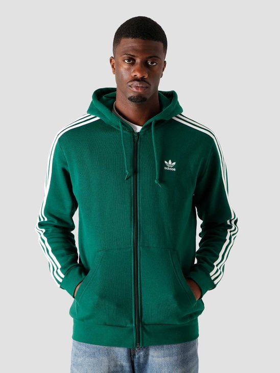 adidas 3-Stripes Fz Dark Green GD9946