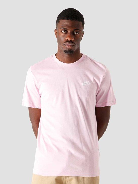 Nike Nsw Club T-Shirt Lt Arctic PiWhite AR4997-632