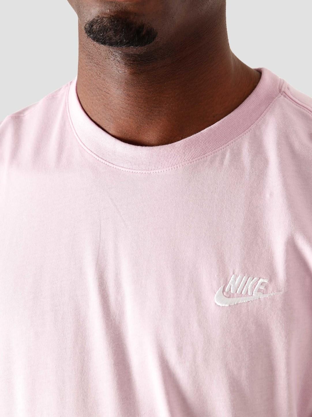 Nike Nsw Club T-Shirt Lt Arctic PiWhite