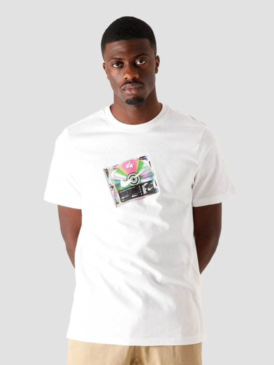 Nike Nsw T-Shirt Music Cd White CW0402-100