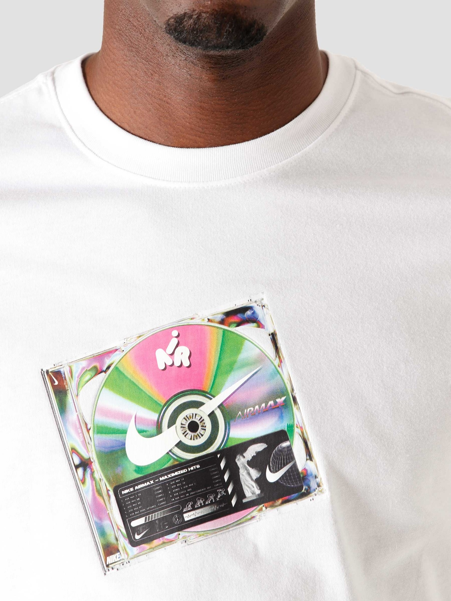 Nike Nike Nsw T-Shirt Music Cd White CW0402-100