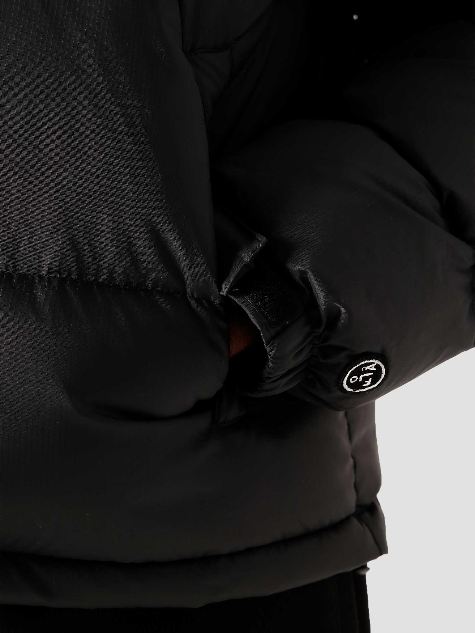 Olaf Hussein Olaf Hussein OH Puffer Jacket Black
