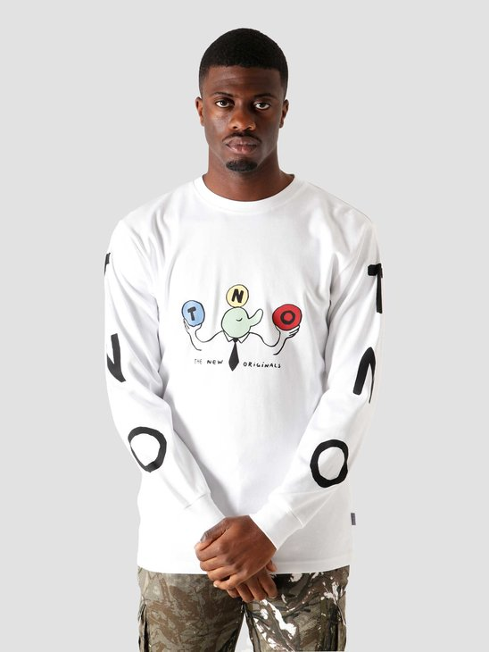 The New Originals Freddy Longsleeve White