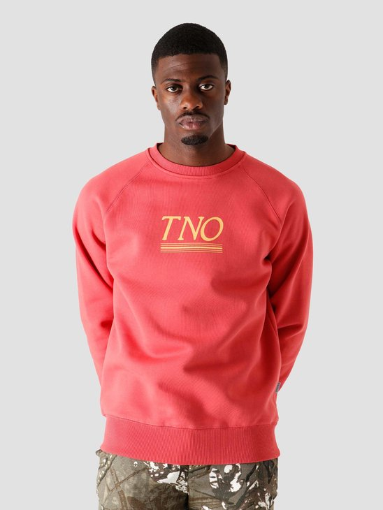 The New Originals Underline Sweater Burgundy