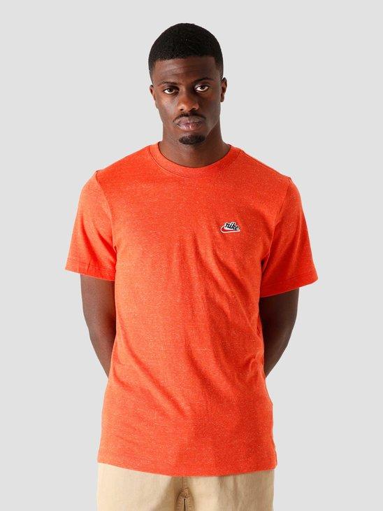 Nike Nsw Heritage LBR T-Shirt Mantra Orange CK2383-861