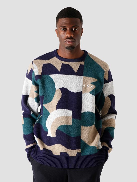 by Parra City Planning Premium Knitted Pullover Multi 44430