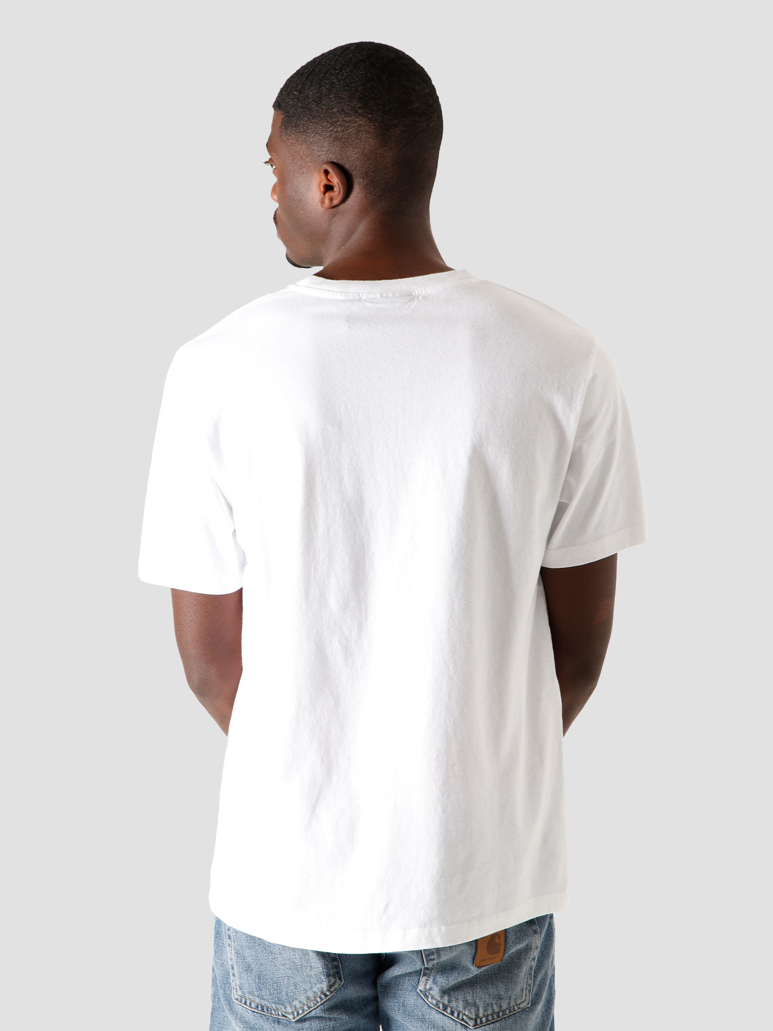 by Parra by Parra Not Going T-Shirt White 44400