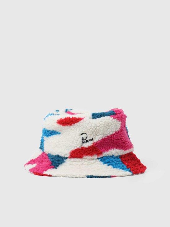 by Parra Sherpa Fleece Bucket Hat Multi 44530