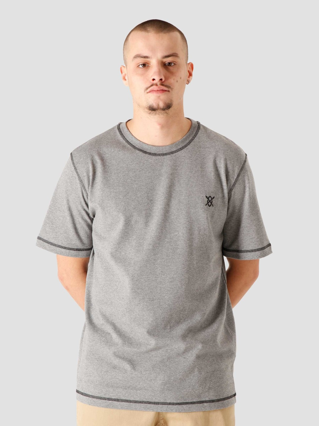 Daily Paper Daily Paper Hoshield T-Shirt Grey 2021310