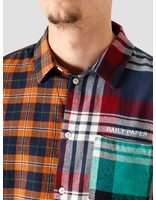 Daily Paper Daily Paper Hocheck Shirt Orange Navy Check 2021324