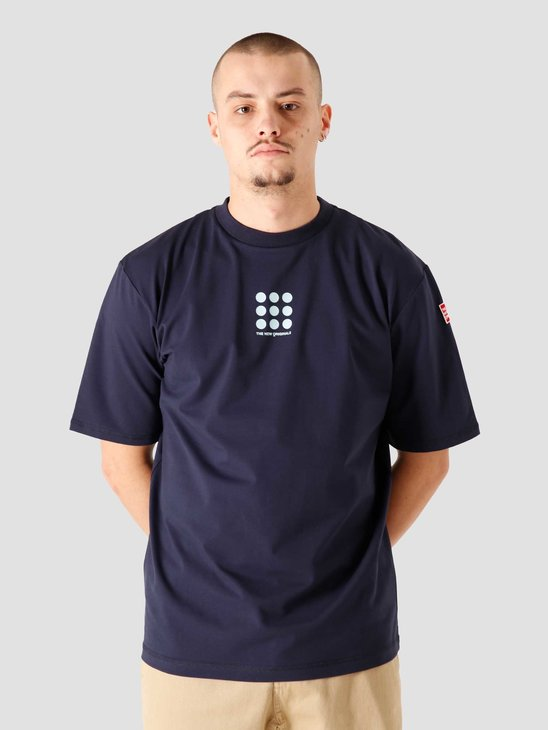 The New Originals Nine Dots Tee Navy Blue