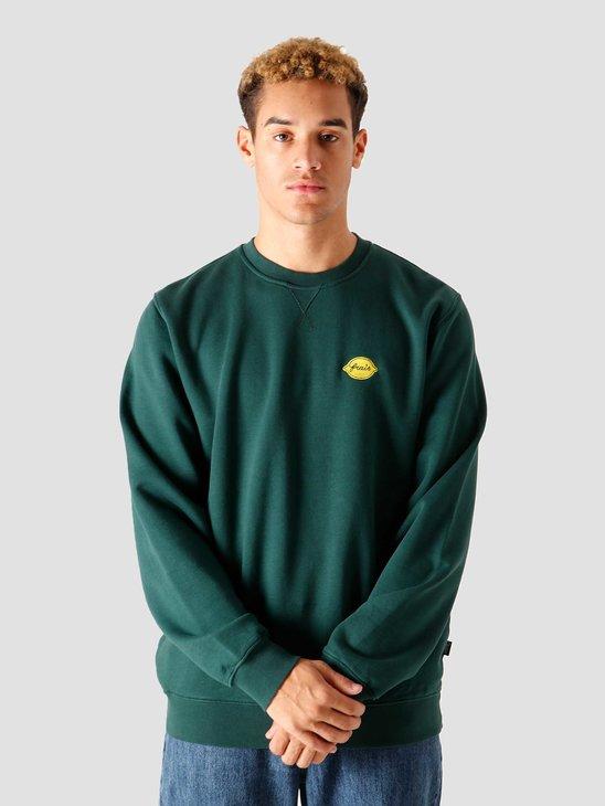 Ceizer Frais Embroidery Crewneck Green FW2020-012