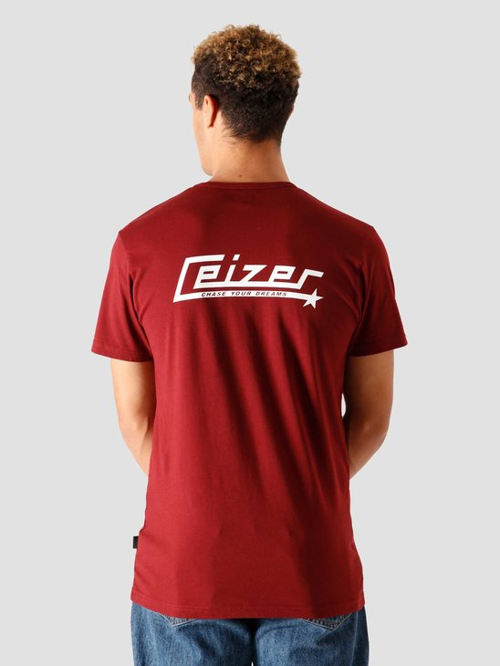 Ceizer Chase Your Dreams T-Shirt Red FW2020-017