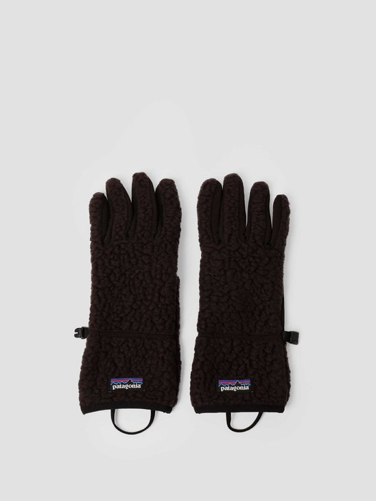 Patagonia Retro Pile Gloves Black 34585
