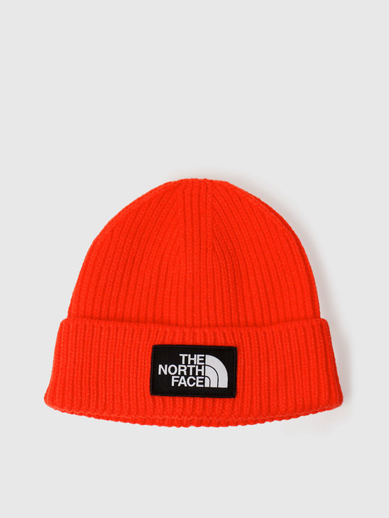 The North Face Logo Box Cuffed Beanie Flare NF0A3FJXR15