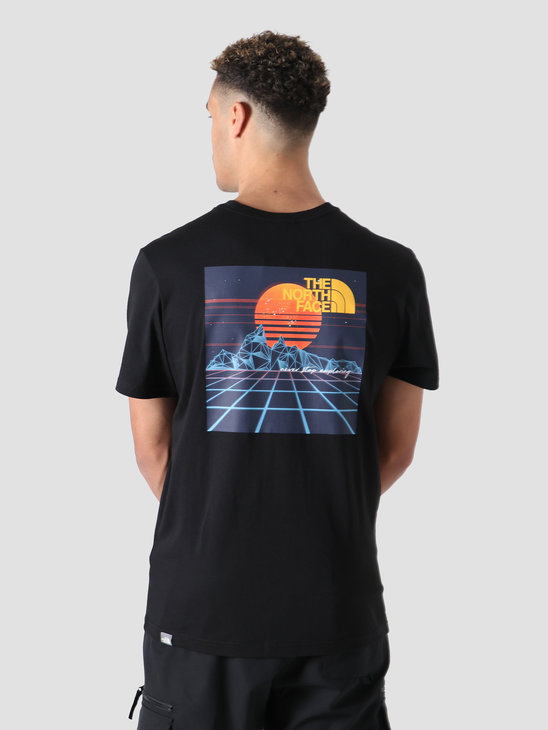 The North Face Throwback T-Shirt Black NF0A4SYKJK3