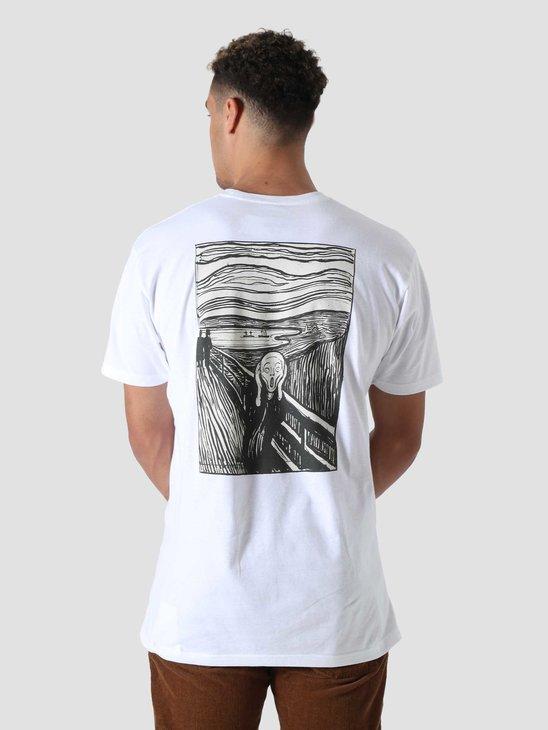 Vans x Moma Munch T-Shirt Moma Edvard Munch White VN0A4RP61UB1