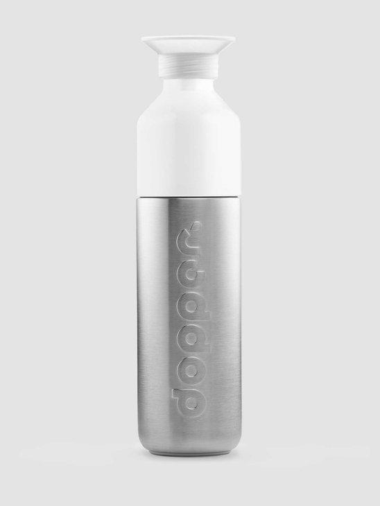 Dopper Stainless Steel Water Bottle Dopper Solid Steel 490ml 772