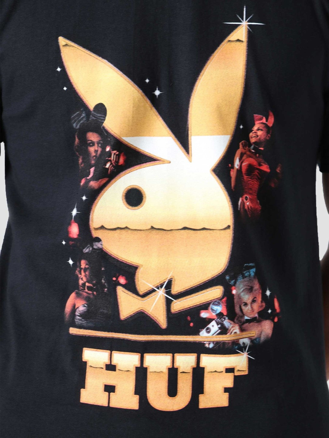 HUF HUF Playboy Club Tour T-Shirt Black TS01464