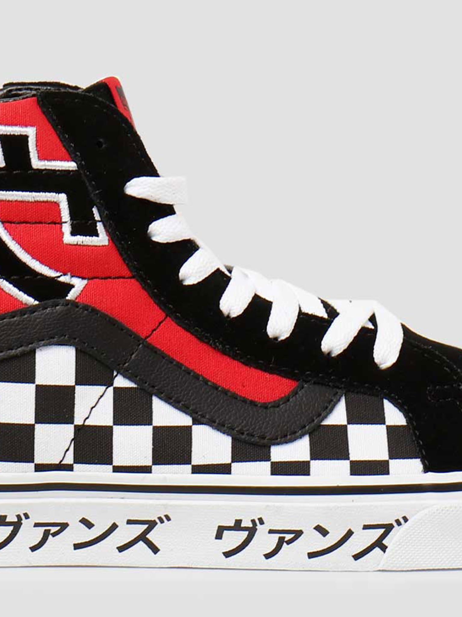 Vans Vans UA SK8-Hi Reissue Japanese Type Racing Red True White VN0A2XSBSJY1