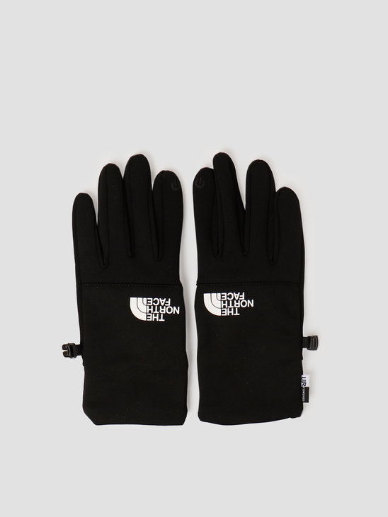 The North Face Etip Recycled Glove Black White NF0A4SHAKY4