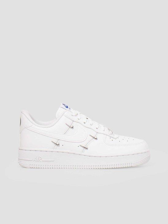 Nike W Air Force 1 07 Lx White White Hyper Royal Black CT1990-100