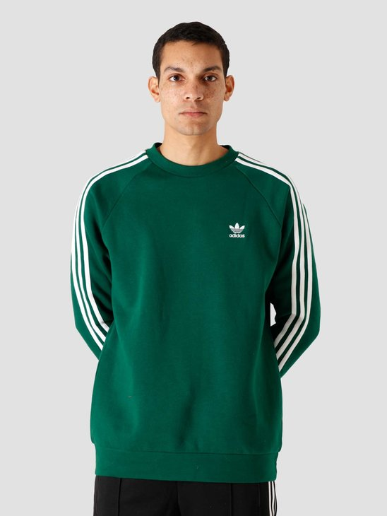 adidas 3-Stripes Crew Dark Green GD9948
