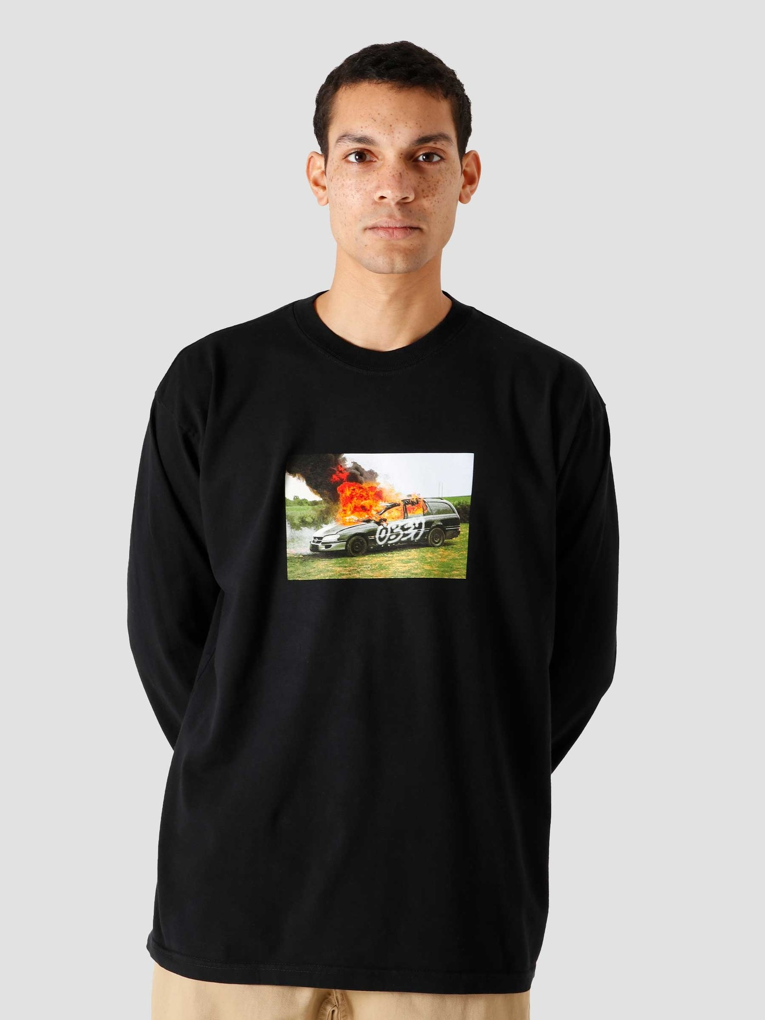 Obey Obey The Suburbs Off Black 167102533