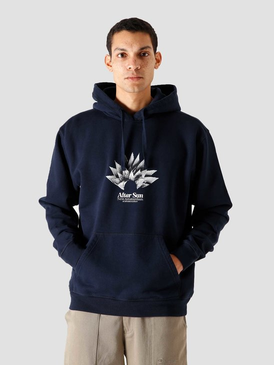 New Amsterdam Surf association After Sun Hoodie Black Iris