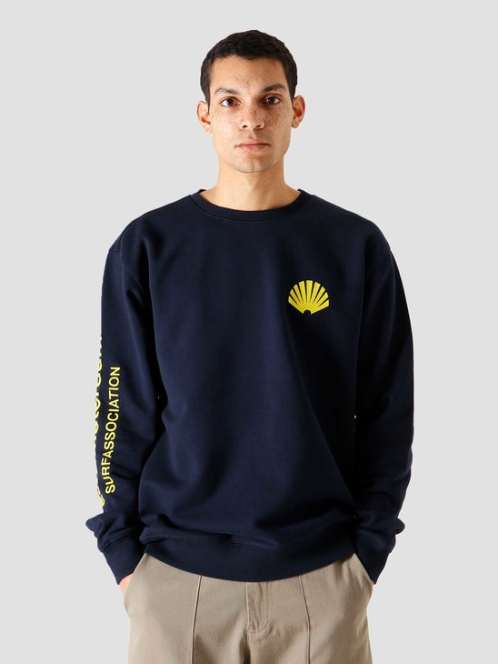 New Amsterdam Surf association Logo Sweat Black Iris