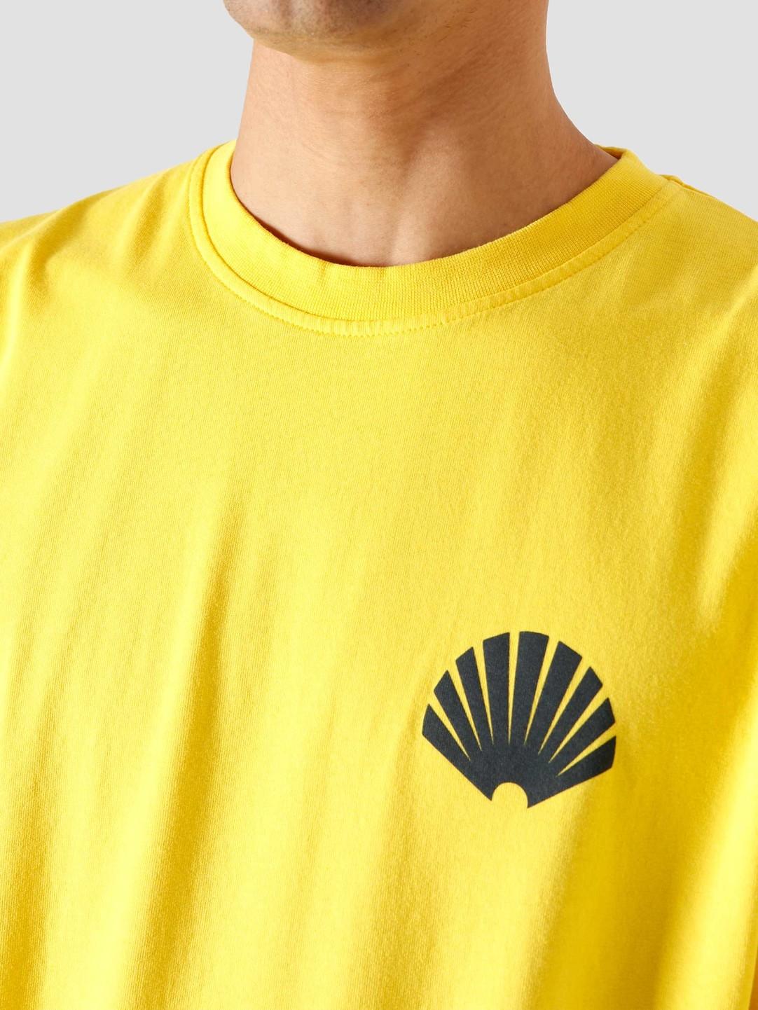 New Amsterdam Surf Association New Amsterdam Surf association Logo Tee Cyber Yellow