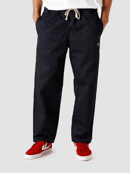 Champion Straight Hem Pants Navy 215330